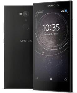 SONY-Xperia-L2-5-5-Zoll-32-GB-DualSIM-13-MP-Kamera-Fingersensor-schwarz-B-WARE