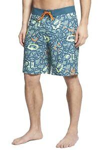 The-North-Face-Men-039-s-Olas-Board-Shorts-Deep-Teal-Blue-Size-36-38-Beachwear-NEW