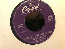 "7"" RARE VINYL - FRANK SINATRA - RIVER, STAY 'WAY FROM MY DOOR - CAPITOL 1960"