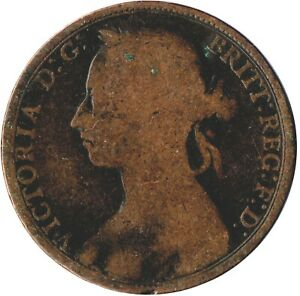 1891-ONE-PENNY-OF-QUEEN-VICTORIA-WT754