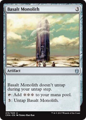 BASALT MONOLITH Commander Anthology MTG Artifact Unc