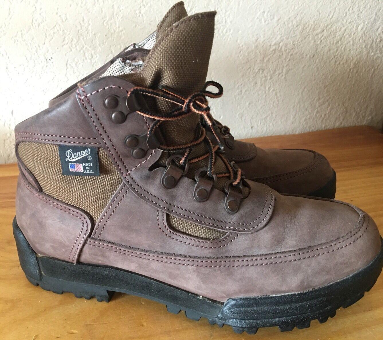 Vintage Danner para mujer botas Senderismo Tamaño 8 Cruz  excursionista 1990  suministro de productos de calidad