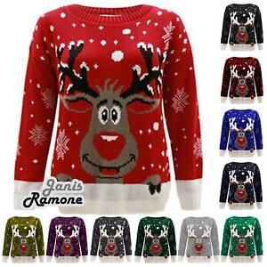 Новая женская, мужская оленя звезда рождественская трикотажный джемпер унисекс новинка свитер