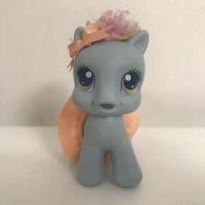 DéSintéRessé Mon Petit Poney My Little Pony 2008 Baby Bébé Rainbow Dash Bleu Avec Couche Jupe