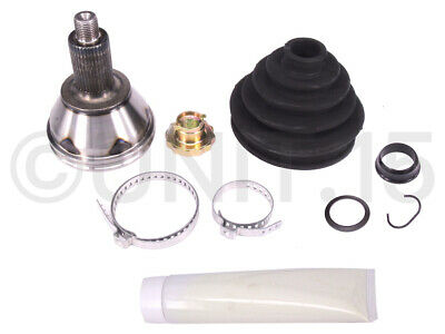 AUDI A2 1.4 DRIVE SHAFT HUB NUT /& CV JOINT OUTER BOOT KIT 2000/>2006