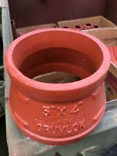 Gruvlok Figure 7072 5 X 4 Concentric Reducer Grooved End Ips Pipe Fitting