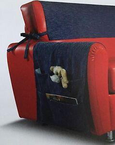 Copri bracciolo con tasche porta oggetti e copritestiera for Divano zara home