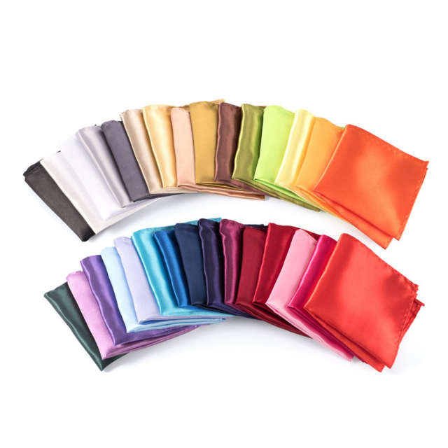 Mens Pocket Squares Handkerchief For Wedding Party Pack of 30 Assorted Color