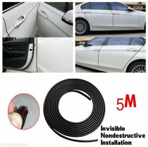 5M-Black-Edge-Door-Guard-Trim-Car-Moulding-Guards-Auto-Molding-Protector-Strip