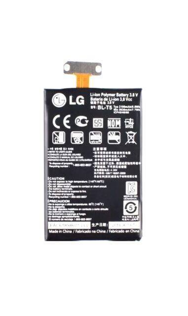 BATERIA BL-T5 PARA NEXUS 4 LG E960 2100mAh LG OPTIMUS G E975 100% ORIGINAL USADO