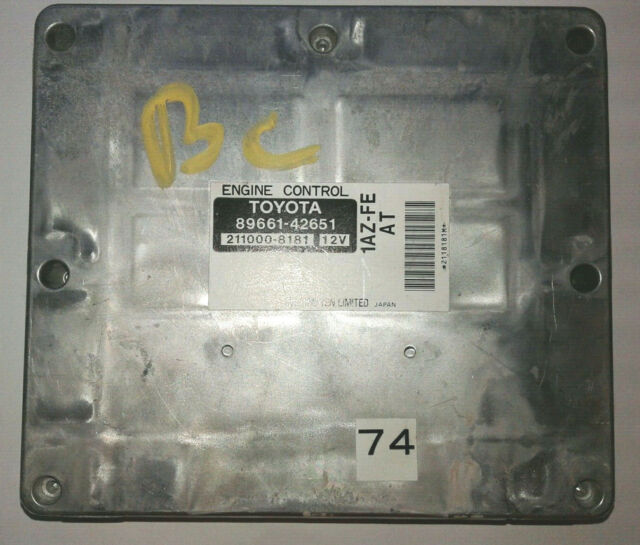 2001 Toyota Rav4 ECU ECM Engine Control Module 1AZ-FE AT