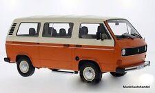 Volkswagen VW T3 Bus orange/beige ( Bulli ) 1:18 Premium ClassiXXs