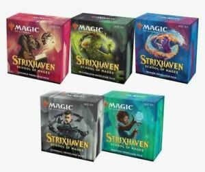 Strixhaven Prerelease Pack Set of 5 - MTG - Brand New Kits! Preorder Ship Fast!