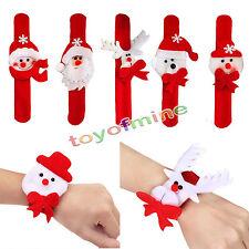 Random Santa Beer Circle Bracelet Christmas Jewelry Xmas Gift Party Decoration