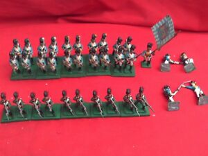 HINCHLIFFE-25-28mm-PAINTED-amp-BASED-NAPOLEON-039-S-ALLIES-BAVARIAN-TROOPS-X-31-figs