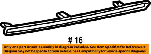 TOYOTA OEM 10-18 4Runner-Bumper Trim-Insert Left 5216435050