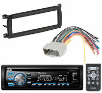 Pioneer Bluetooth Cd Player Car Stereo Radio Install Mount Kit Radio Harness on Sale