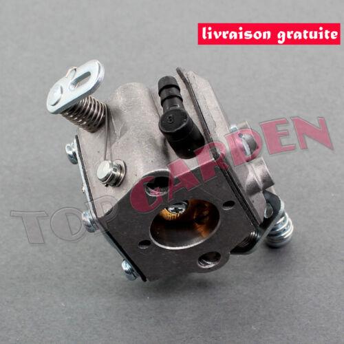 Carburateur pour STIHL MS170 MS180 017 018 Tuyau Filtre à Air Walbro Remplace