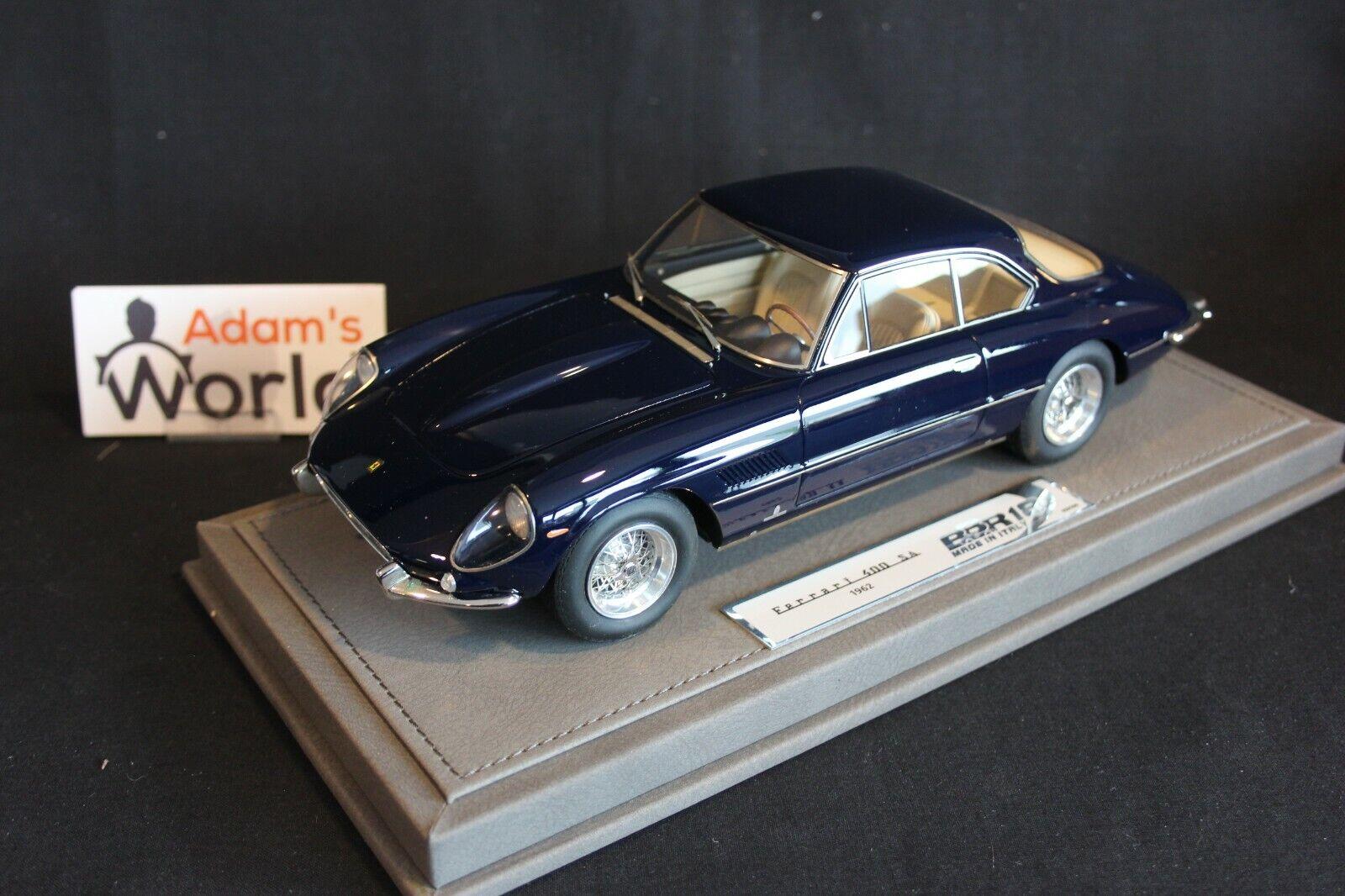 BBR Ferrari 400 Superamerica 1962 1 18 dark bleu (PJBB)