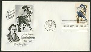 #1241 5c Audubon, Artmaster-Addressed FDC Cualquier 4=