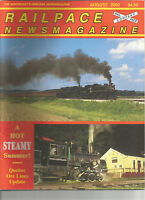 RAILPACE MAGAZINE The Northeast's Rail News Magazine Great Photos August  2002
