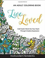 Adult Coloring Books Live Loved Craft God's Word Into Your Heart (pb)