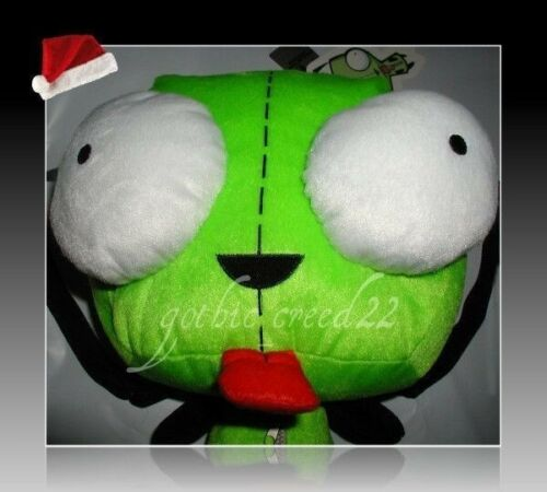 INVADER ZIM /'GIR/' ZIPSUIT HOT TOPIC PLUSH BACKPACK//TOTE//PURSE//BAG NWT HTF RARE