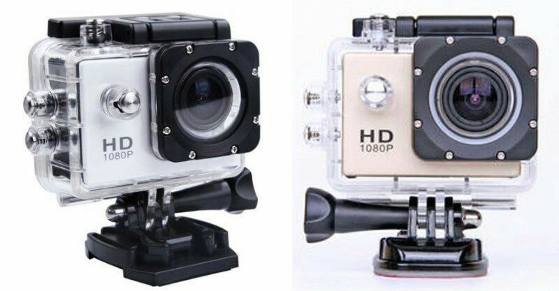 Brand New HD Sport Action Helmet Camera with Waterproof Case