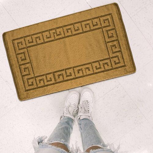 Luxury Non Slip Indoor Door Mats Washable Absorbent Area Rug Kitchen Floor Mat