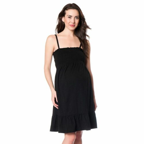 By Motherhood Smocked Tube multiple wear Maternity Dress Size//Color varies