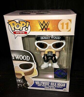 Funko Pop! Hollywood Hulk Hogan #11 NWO WWE duro Pila 2k Excelente ...