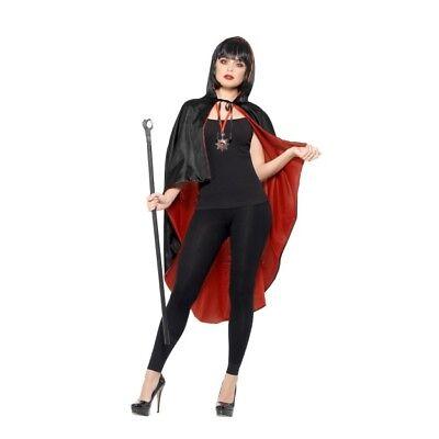 Di Larghe Vedute Vampiro Kit Con Reversibile Mantella Donna Vampira Vestito Per Halloween Evidente Effetto
