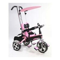 Kyootsi Smart Trike Baby Tricycle 4 In 1 Kids Bike - Pink