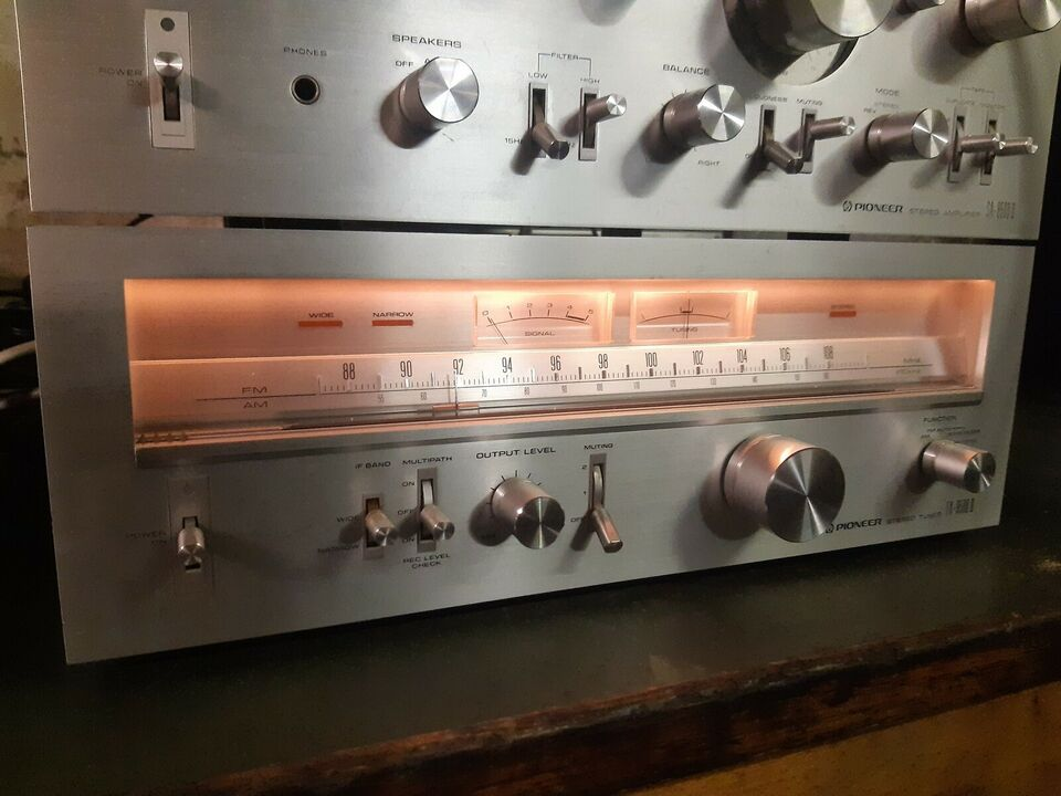 Forstærker, Pioneer, SA-8500 II