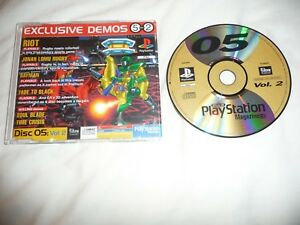Demo-Disc-05-Vol-2-Official-UK-Playstation-Magazine-Sony-Playstation-1