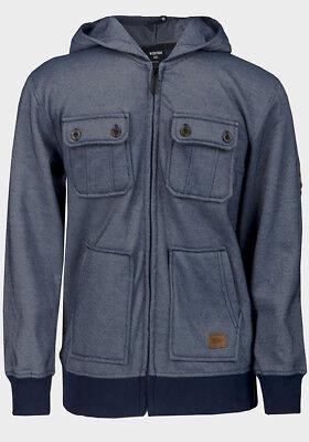 Boys Zoo York Heavy Pique Hooded Jacket fleece Lined