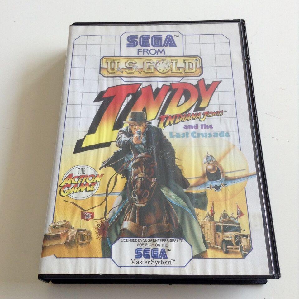 Indiana Jones And The Last Crusade, SEGA Master System