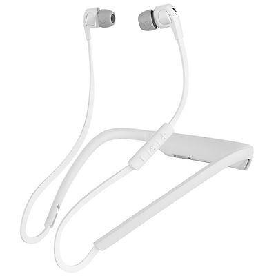 Skullcandy S2PGHW-177 WHITE Wireless Smokin' Buds Headphones Original /Brand New