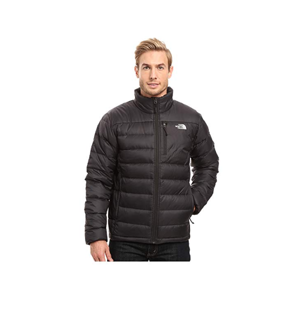 The North Face Men's Aconcagua Jacket in TNF Black 550 Fill Down Sz S XL NEW