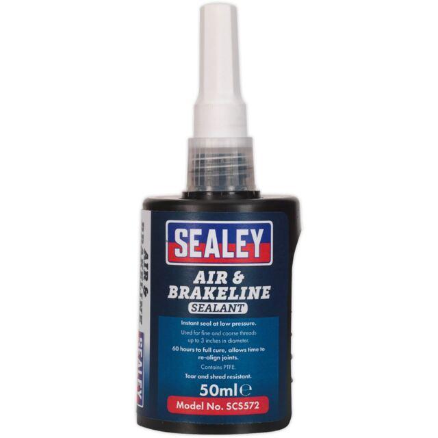 Sealey Aire & Cable Freno Sellador Mecánica Automotive Coche Furgoneta 50ml