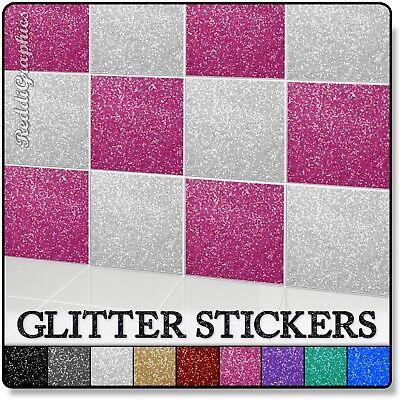 Glitter Tile Transfer Sticker 100mm