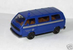 HERPA-HO-1-87-VW-MINI-BUS-POMPIERS-OEUVRE-BIENFAISANCE