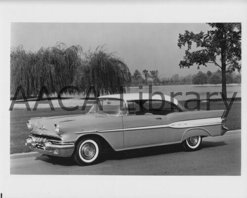1957 Pontiac Super Chief Catalina Two Door Hardtop Factory Photo Ref. #69167