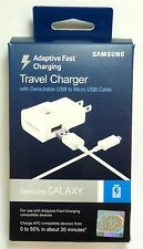 Samsung - Adaptive Fast Charging Wall Charger with Micro USB Cable - White