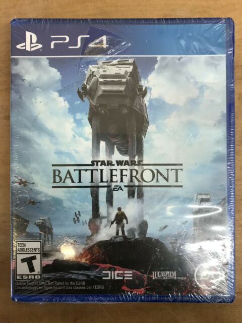 Star Wars Battlefront Sony PS4 EA 2015 New Sealed