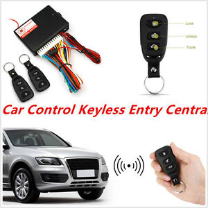 Car Remote Unlocker >> Car Auto Central Lock Unlock Car Remote Control Conversion W 2