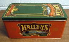 Baileys Original Irish Cream Decorative Metal Tin Box with hinged lid