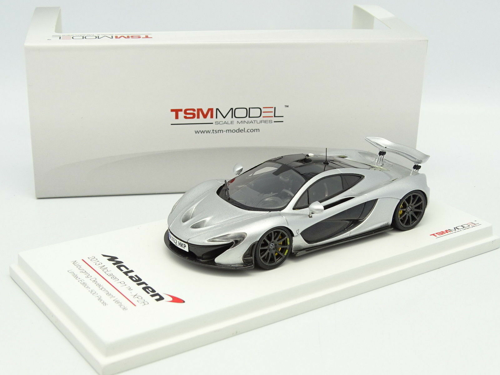 True Scale Modelo Tsm 1 43- Mclaren P1 XP2R Nurburgring Development Coche 2013