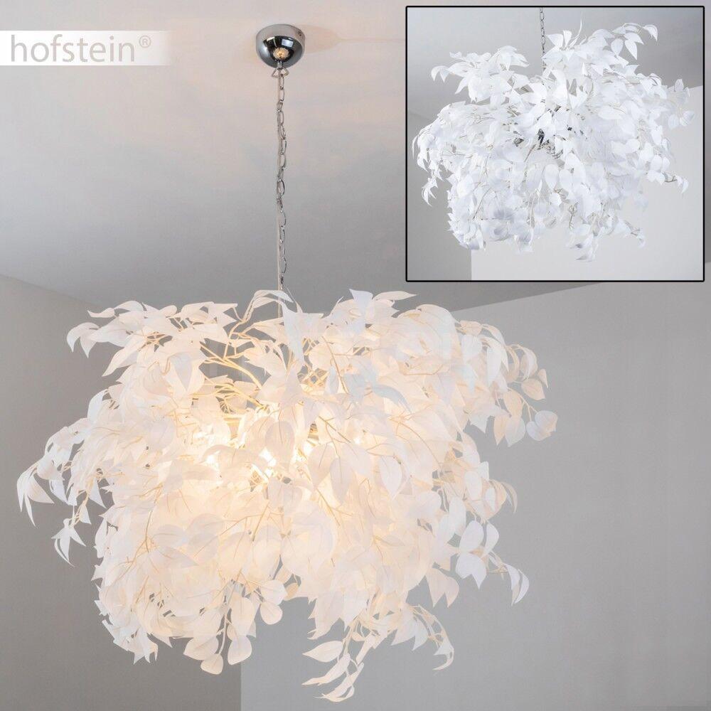 Blüten Pendelleuchte Design Hänge Leuchten Ess Wohn Schlaf Zimmer Lampen weiss