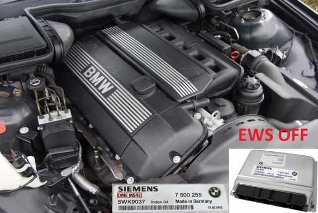 upto 204bhp EWS Deleted M52B25TU MS42 Remapped ECU for BMW E39 523i 1998-2000